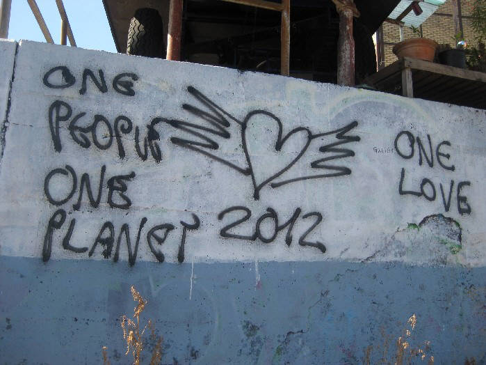2012, ONE PEOPLE, ONE PLANET, ONE LOVE