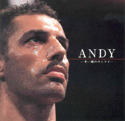 ANDY HUG helped japan recall the gretness of its own heritage. the blue-eyed samurai from switzerland