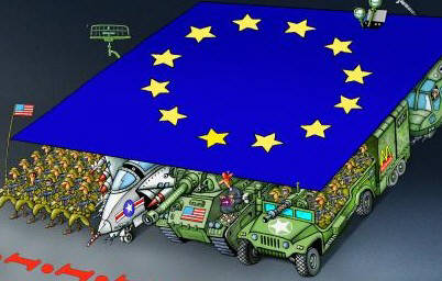 Die EU-Tyrannei wird zusammen mit dem NATO-Kriegsmonster untergehen. The EU tyranny will collapse together with the NATO war monster.
