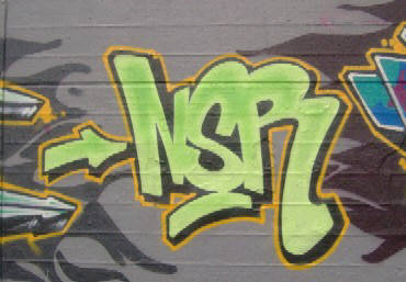NSR graffiti zurich switzerland rote fbrik graffiti
