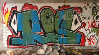 ROS graffiti z�rich