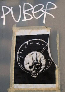 PUBER graffiti tag. PUBER king of dirty new york style in zurich and king of taggers